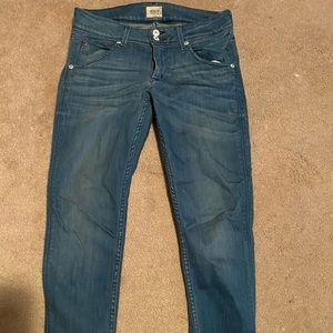 Hudson skinny jeans 28